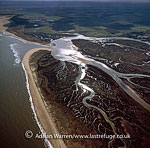 Mud Flats at Norton Creek and Ovry Marsh, Norfolk, England