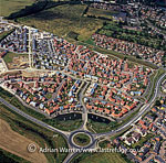 New Housing Estate, Grantham, Lincolnshire, England