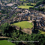 Richmond Castle, on the River Swale, Richmond, North Yorkshire, England