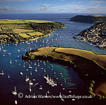 Salcombe, Kingsbridge Estuary, Devon, England