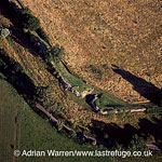 Silchester Roman Town (Calleva Atrebatum) south entrance, Hampshire, England
