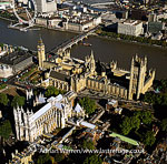 Westminster Abbey, Big Ben, Houses of Parliament, Westminster, London, England
