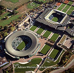 Wimbledon Lawn Tennis Club, Centre court and number one court, England