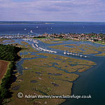 Yarmouth, on the mouth of the Western Yar river, a port in western part of the Isle of Wight, England