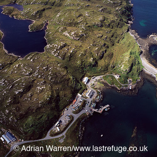 Ardhasaig, a village on the western coast of North Harris, Outer Hebrides, West Coast Scotland