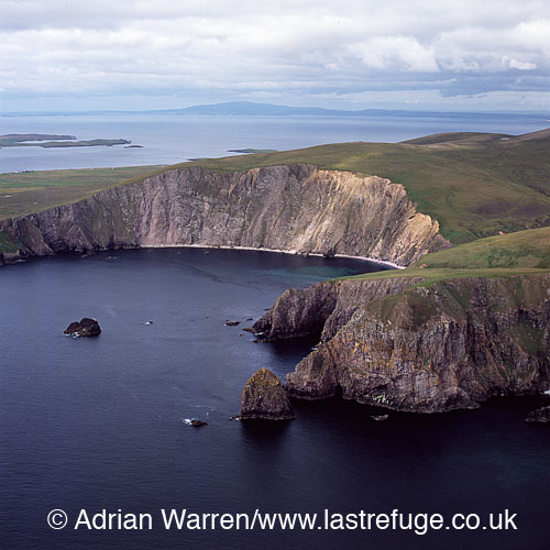 Grocken Heads, Esha Ness (Eshaness), Hillswick, Shetland Islands, Scotland