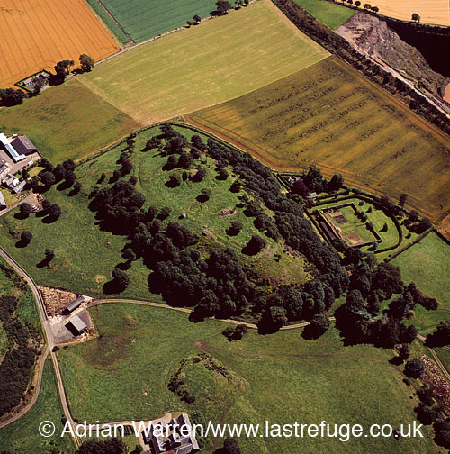 Laws Hill Fort, Scotland,