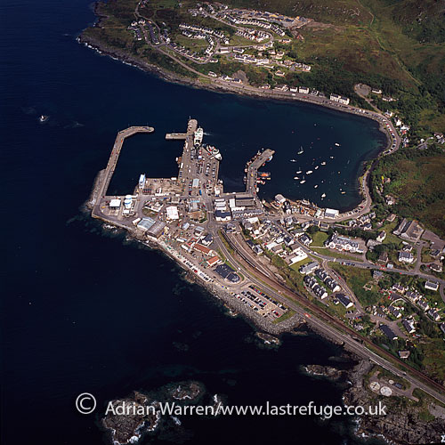 Mallaig, a port in Lochaber, on the west coast of the Highlands, Highlands, Scotland
