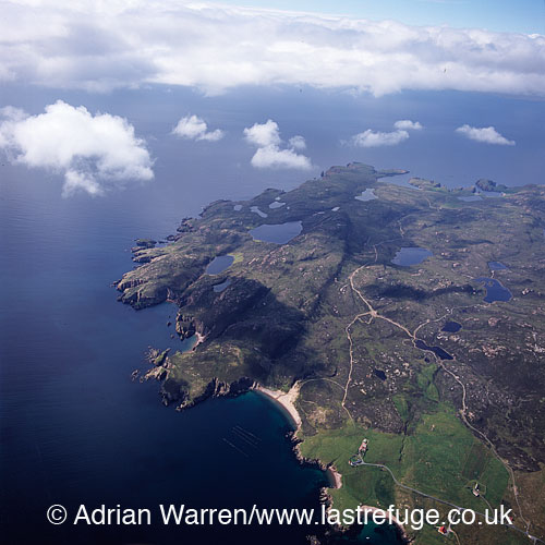 Muckle Roe Island, saint Magnus Bay, to the west of Mainland, Shetland, Shetland Islands, Scotland