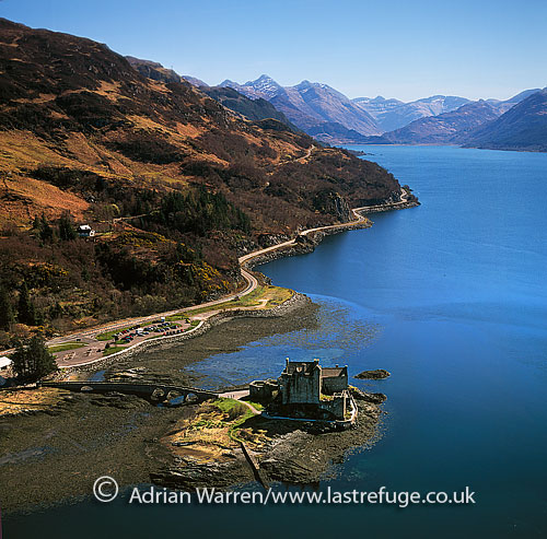 Aerial Photography Map Of Highlands Ranch Co Colorado: Last Refuge Aerial Image Search: Eilean Donan Castle, Near