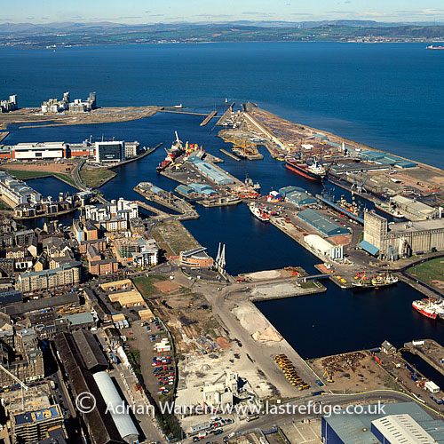 Leith Docks, Firth of Forth, Lowlands, Scotland