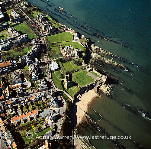 St Andrews Catle, east coast of Fife, Lowlands, Scotland