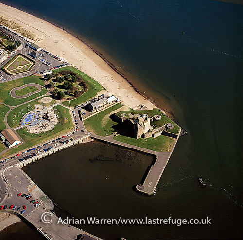 Broughty Castle, Firth of Tay, Lowlands, Scotland