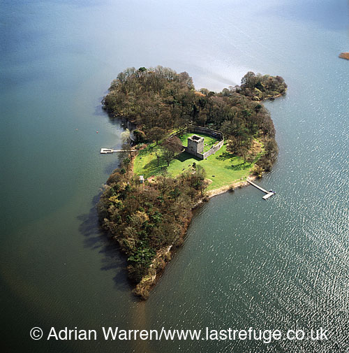 Island Loch Leven Loch Leven Castle Lochleven