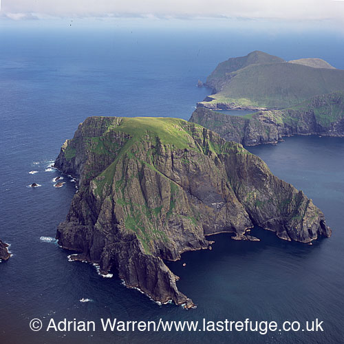 Soay, uninhabited island in the St Kilda archipelago, Outer Hebrides, West Coast Scotland