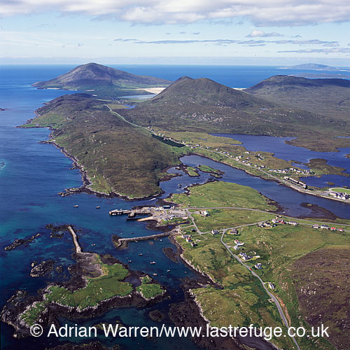 Leverburgh, south Harris, Outer Hebrides, West Coast Scotland