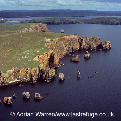 The Neap, east of Esha Ness, Shetland Islands, Scotland
