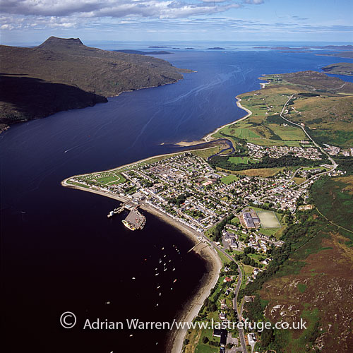 Ullapool, small town in Ross and Cromarty, Highlands, Scotland
