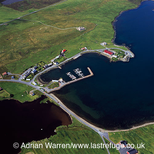 Vidlin, North East coast of Shetland Mainland, Shetland Islands, Scotland