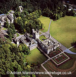 Balmoral Castle, Aberdeenshire, Scotland known as Royal Deeside, Highlands, Scotland