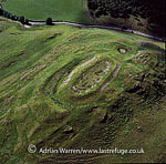 Barra Hill fort, Aberdeenshire, Scotland,