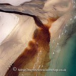 The Burn of Lyth flows into Sinclair's Bay, Caithness, Lowlands, Scotland