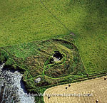 Burroughston Broch, an Iron Age archaeological site on the island of Shapinsay, Orkney Islands, Scotland