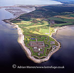 Fort George, Ardersier, is a large 18th century fortress near Inverness (artillery fortification), Highlands, Scotland