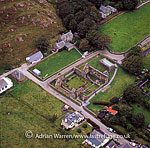 Benedictine Nunnery, Iona, Inner Hebrides, West Coast Scotland