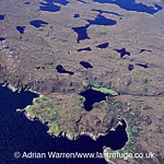 East coast of Isle of Lewis, Outer Hebrides, West Coast Scotland