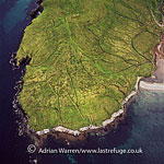 Peat, North Roe, northern tip of the Mainland of Shetland, Shetland Islands, Scotland