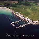 Gill Pier, Gill, Pierowall Ferry Terminal to Papa Westray, Westray, Orkney Islands, Scotland