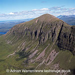 Sail Ghorm of the mountain of Quinag, Sutherland, Highlands, Scotlands