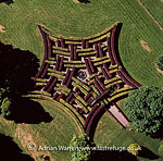 Maze at Scone Palace, Scone, near Perth, Lowlands, Scotland