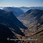 Glacial valley: Beinn Fhada, near Pass of Glencoe, Highlands, Scotland