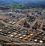 Grangemouth oil refinery, Lowlands, Scotland