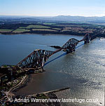 The Forth Bridge is a cantilever, railway bridge over the Firth of Forth in the east of Scotland, Lowlands, Scotland