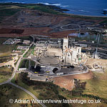 Cement factory, Lowlands, Scotland