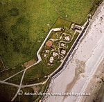 Skara Brae, a large stone-built Neolithic settlement, on the Bay of Skaill, west coast of mainland Orkney, Orkney Islands, Scotland