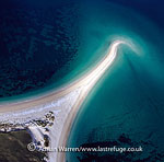 Sandbar west of Taransay, near South Harris, Outer Hebrides, West Coast Scotland