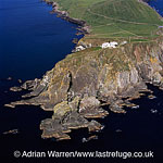 Sumburgh Head Lighthouse, southen tip of Shetland Mainland, Shetland Islands, Scotland