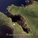 Volcanic Cliffs, just North east of Esha Ness (Eshaness), Northmavine peninsula, Shetland Islands, Scotland