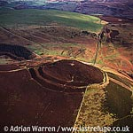 Moel Arthur Hill Fort, Smaller hill fort, 5.5 m E of Denbigh, North Wales