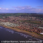 Prestatyn, Town, & Roman bathhouse here, North Wales
