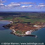 Black Point, Penmon and Caim, with lighthouse, Anglesey, Conwy Bay, North Wales