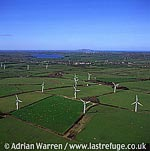 Wind farm, Near Trysglwyn, Anglesey, North Wales
