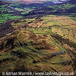 Pen-y-Gaer Hill Fort, 6 m S of Conwy, North Wales