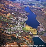 Llanberis, Town and Lake, North Wales