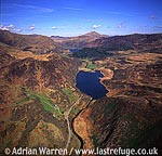 Llyn Dinas, Lake NE of Beddgelert, North Wales