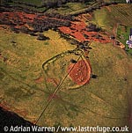 Caer Euni Hill Fort , 5.5 m NE of Bala, North Wales